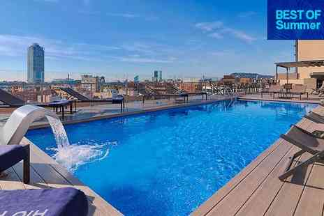 H10 Marina Barcelona - Four Star Urban Sophistication with a Rooftop Pool for two - Save 0%