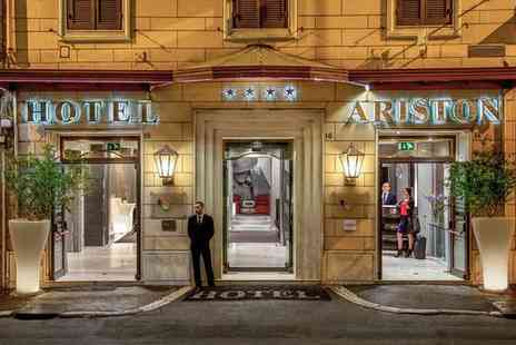 Hotel Ariston - Four Star Modern Boutique Style near the Colosseum for two - Save 80%