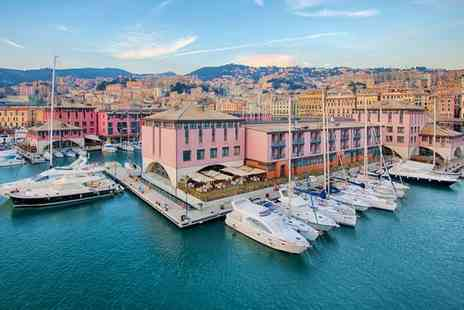 NH Collection Genova Marina - Four Star Elegant Hotel with Picturesque Harbour Views for two - Save 59%
