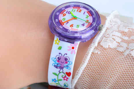 Backtogoo - Kids cartoon jelly watch choose from five designs - Save 85%