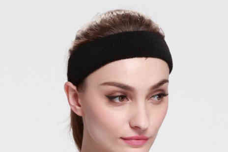 Yello Goods - Sports headband choose between four colours - Save 85%