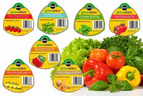Anything 4 home - Set of seven Miracle Gro Gro Ables seed pods - Save 65%