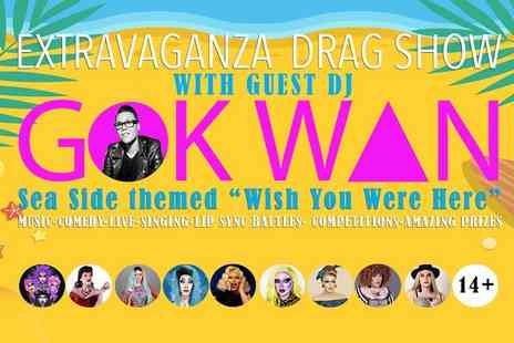 Kitty Tray Presents - Ticket to the Seaside Extravaganza with Gok Wan on 27th July - Save 50%