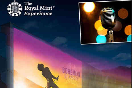 The Royal Mint - Ticket to an outdoor cinema screening of Bohemian Rhapsody - Save 33%