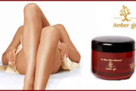 Amber Gel - Hair Removal Kit from Amber Gel - Save 62%
