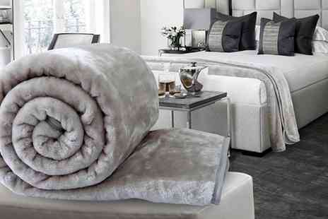 Groupon Goods Global GmbH - Soft Faux Mink Throws - Save 0%