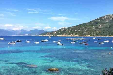 Corsican Places - Seaview apartment escape including flights - Save 0%