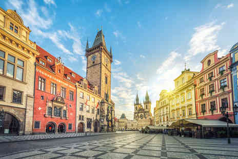 Super Escapes Travel - Two Nights Prague city break with breakfast and return flights - Save 25%