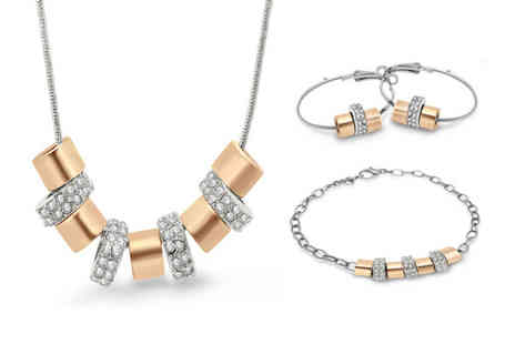 Victorias Candy - Summer pave tri jewellery set - Save 69%