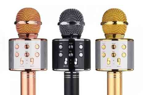 Groupon Goods Global GmbH - Karaoke Microphone with Built In Bluetooth Speaker - Save 0%