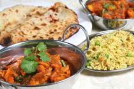 7 Spices - Two course Indian meal with sides and coffee for two - Save 61%