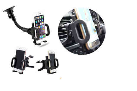 TMD Global - An in car dashboard or air vent phone mount holder - Save 73%