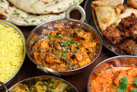 India Gate - £25 to spend for two or more people on food and drink with poppadoms and dips on arrival - Save 57%
