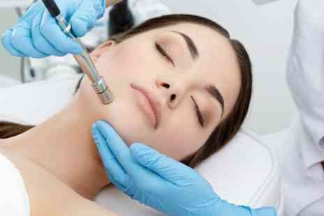 The Day Spa - Up to Three Sessions of Microdermabrasion with Led Treatment - Save 65%