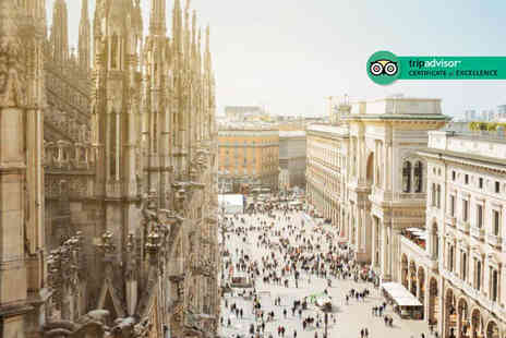 Weekender Breaks - Four Star Two nights Milan stay with breakfast and return flights - Save 38%