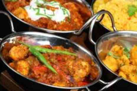 Mumbai Mansion - Indian banquet for four with tea or coffee - Save 65%