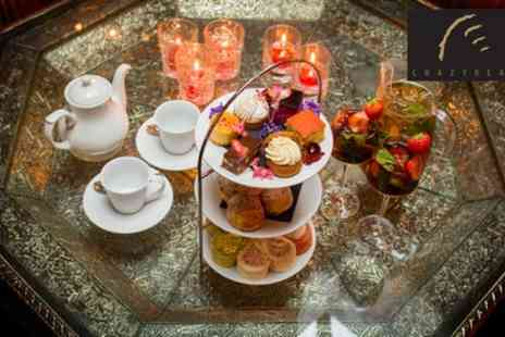 The Crazy Bear - Summer Pimms Royale Afternoon Tea - Save 56%