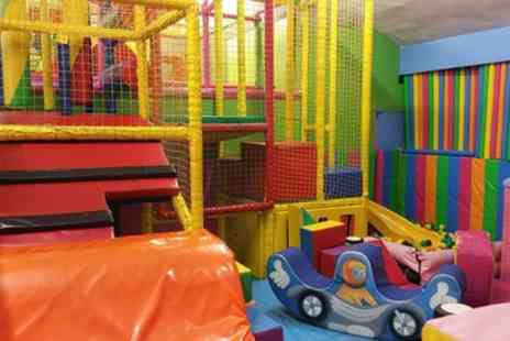 Clown Around - Two Hour Soft Play with Trampoline and Soft Drink for One or Two Children - Save 50%