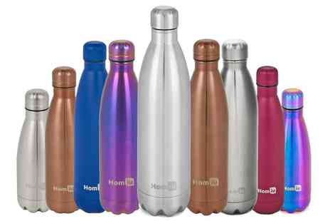 Groupon Goods Global GmbH - Double Walled Vacuum Insulated Stainless Steel Drinks Bottle - Save 0%
