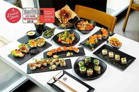 Inamo - Unlimited sushi and Asian tapas in the Secret Garden - Save 71%