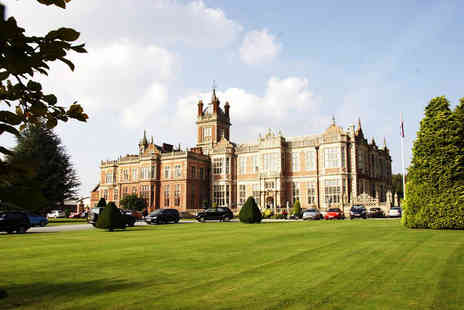 Crewe Hall - Summer spa day for one with two treatments, leisure access, hot drink and Danish pastry - Save 55%