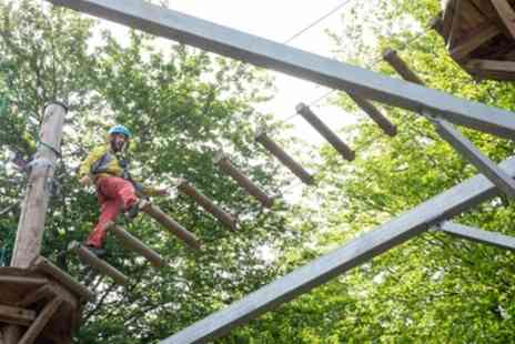 Telford & Wrekin Council - High Ropes Course for Up to Four - Save 50%
