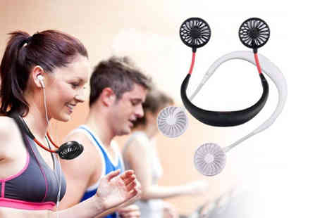 Wow What Who - Summer cooling neck fan - Save 73%
