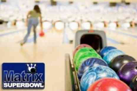 Matrix Superbowl - Tenpin Bowling For Six With Food and Shoe Hire - Save 79%