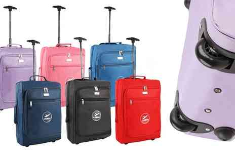 Groupon Goods Global GmbH - One or Two Cabin Trolley Wheeled Light Luggage Cases - Save 0%