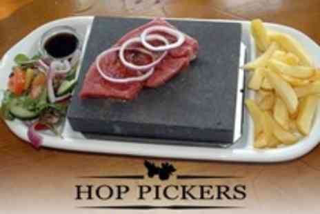 Hop Pickers - Stone Grill Meal For Two - Save 0%