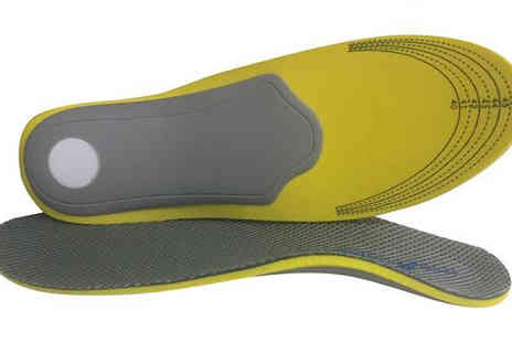 Sole Control - Flex Lite Full Length Orthotic Insoles with Free Delivery - Save 60%