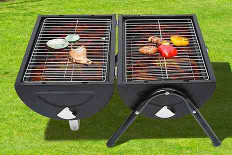 Mhstar -Portable charcoal BBQ grill - Save 71%