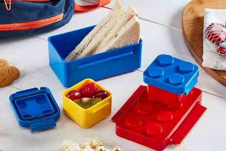 CJ Offers - Cooks Professional brick lunchbox set - Save 64%