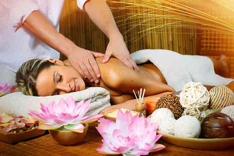 LM Beauty - 90 minute pamper package  choose from 17 treatments - Save 74%