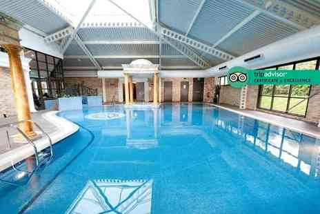 Keavil House Hotel - Two course lunch for two people including leisure spa access - Save 30%