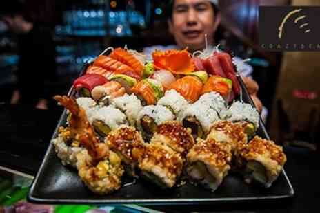 The Crazy Bear Group - Sushi, Sashimi and Premium Champagne  - Save 50%