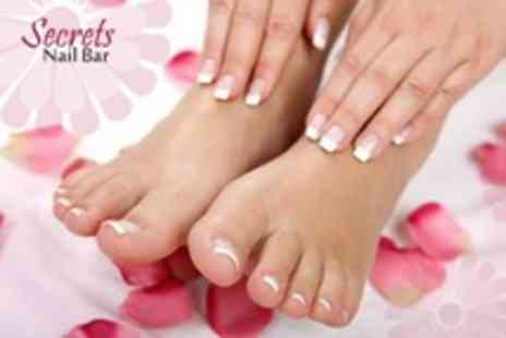 Secrets Nail Bar - Manicure and Pedicure - Save 0%