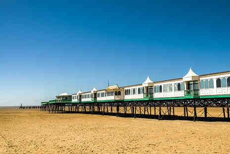 The Lindum Hotel - Overnight St Annes seaside stay for two people with breakfast and fish and chips with bottle of Prosecco - Save 60%