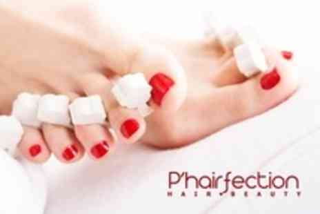 P'hairfection - One Hour Jessica ZenSpa Pedicure  - Save 55%