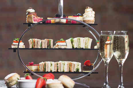 Crowne Plaza Nottingham - Two hour bottomless Prosecco afternoon tea for two - Save 52%