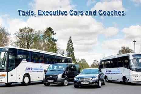 JustCabbie - Leeds Bradford Airport Transfers and Taxi Service - Save 0%