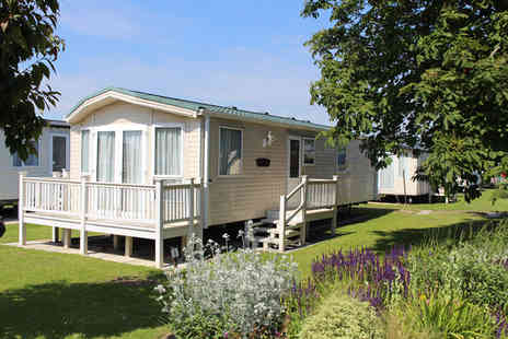 Wigbay Holiday Park - Three nights Loch Ryan caravan stay for four - Save 50%