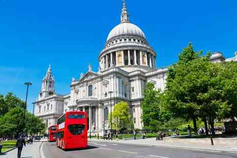 OMGhotels - Four Star Overnight London stay with breakfast, River Thames Cruise and priority entry to St Pauls Cathedral - Save 0%