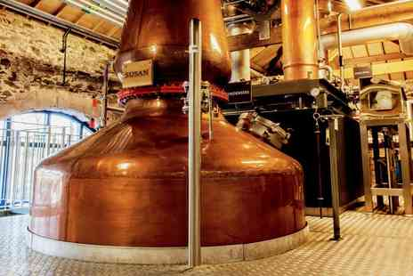 The Lakes Distillery Company - Tour, tasting and 2 Course meal for 2 - Save 43%