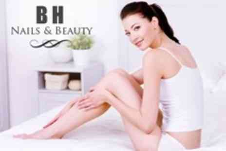 B H Nails and Beauty - IPL Hair Removal Six Sessions on One Medium or Two Small Areas - Save 82%