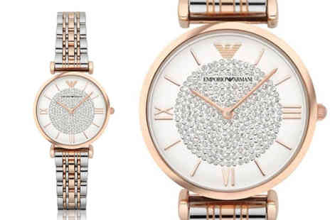 Hip Watches - Ladies Emporio Armani AR1926 watch - Save 71%