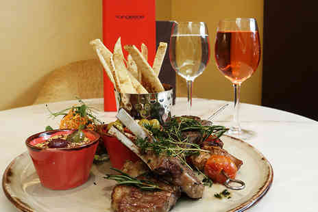 Millennium Knightsbridge - Sharing platter with a glass of wine each for two - Save 29%