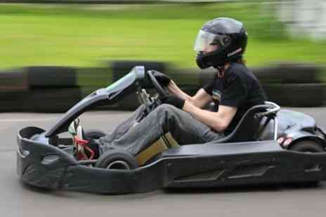 West Country Karting - 80 karting laps for one person - Save 75%