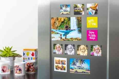 Colorland - Up to Three Packs of Up to Six Personalised Magnets Each in Choice of Size - Save 67%