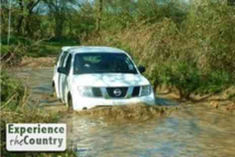 Experience The Country - 4x4 Off Roading For Two - Save 51%